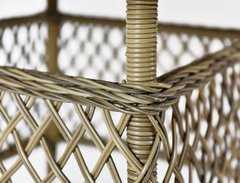 Фото №4 Стол обеденный Равенна из искусственного ротанга