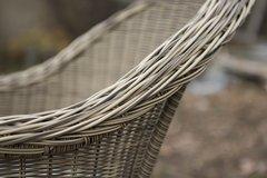 Фото №2 Кресло Равенна из искусственного ротанга