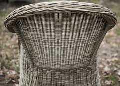Фото №3 Кресло Равенна из искусственного ротанга