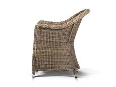 Фото №4 Кресло Равенна из искусственного ротанга