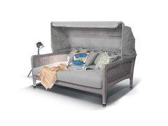Фото №2 Кровать Лабро из искусственного ротанга