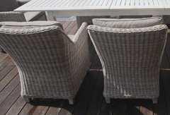 Фото №3 Кресло из искусственного ротанга ТОСКАНА в комплекте с подушками