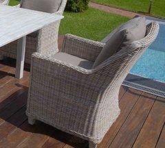 Фото №4 Кресло из искусственного ротанга ТОСКАНА в комплекте с подушками