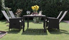 Фото №8 Комплект садовой мебели из ротанга Lavras 165 (стол + 4-6 кресел)