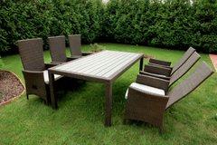 Фото №2 Комплект садовой мебели из ротанга Lavras 205 (стол + 6-8 кресел)