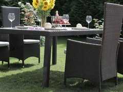 Фото №4 Комплект садовой мебели из ротанга Lavras 205 (стол + 6-8 кресел)