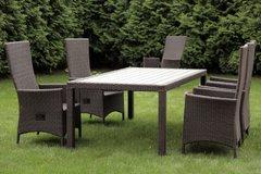 Фото №5 Комплект садовой мебели из ротанга Lavras 205 (стол + 6-8 кресел)