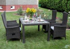 Фото №7 Комплект садовой мебели из ротанга Lavras 205 (стол + 6-8 кресел)