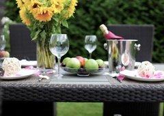 Фото №2 Обеденный стол из ротанга LAVRAS 205