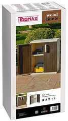 Фото №5 Пластиковые шкафы 2-х дверная с 1 полкой
