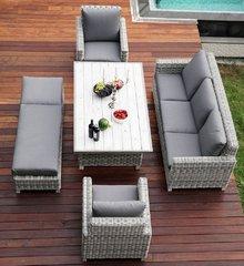 Фото №9 Комплект мебели из искусственного ротанга БАЛИ