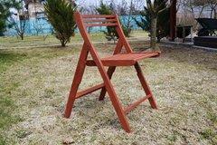 фото Деревянный стул ЛЕТО
