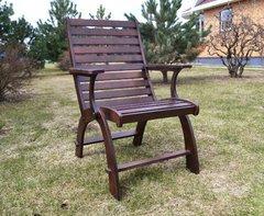 фото Деревянное кресло ПЕГАС