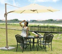 фото Садовый зонт GARDEN WAY А002-3500 кремовый