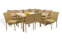 фото Комплект мебели ФИДЖИ угловой со столом и стульями