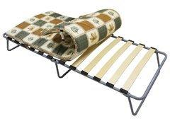 фото Кровать раскладная КАМИЛЛА (на ламелях) с матрасом в сумке