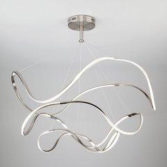 фото Светодиодный подвесной светильник 90109/3 сатин-никель