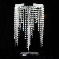 фото Светодиодная настольная лампа с хрусталем 80412/1 хром
