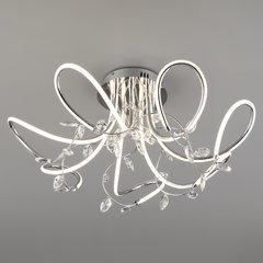 фото Светодиодный потолочный светильник с хрусталем 90106/7 хром