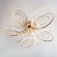 фото Светодиодный потолочный светильник 90099/5 золото
