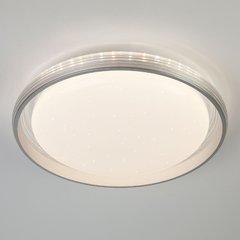фото Светодиодный потолочный светильник 40016/1 LED серебряный