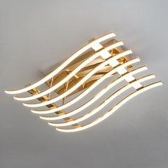 фото Светодиодный потолочный светильник 90091/7 золото