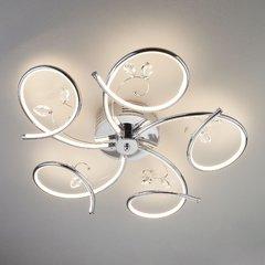 фото Светодиодный потолочный светильник 90089/5 хром