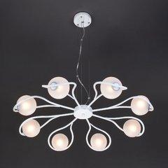 фото Подвесной светильник 70089/8 белый с серебром