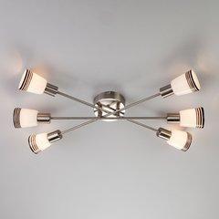 фото Потолочный светильник 30132/6 сатин-никель