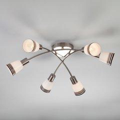фото Потолочный светильник 30131/6 сатин-никель