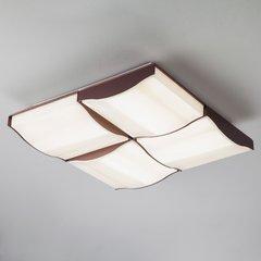 фото Светодиодный потолочный светильник 90031/4 кофе
