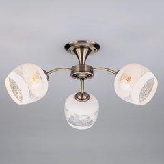 фото Потолочный светильник 30118/3 античная бронза