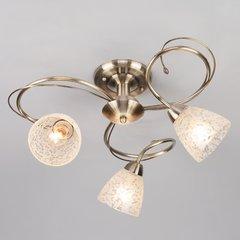 фото Потолочный светильник 30130/3 античная бронза