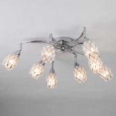 фото Потолочный светильник с поворотными плафонами 30128/8 хром