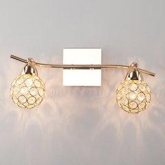 фото Настенный светильник с хрусталем 20042/2 золото