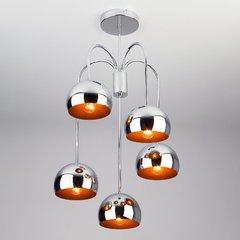 фото Подвесной светильник в стиле Лофт 70067/5 хром