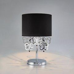 фото Настольная лампа с черным абажуром 01094/1