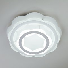 фото Светодиодная люстра с регулируемой температурой света и яркости 90076/2 белый