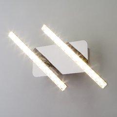 фото Светодиодный настенный светильник с хрусталем 90041/2 хром