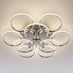 фото Светодиодный потолочный светильник 90069/9 хром