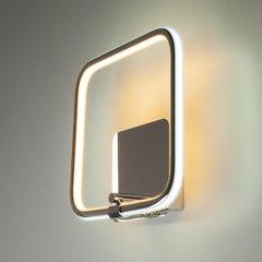 фото Светодиодный настенный светильник 90067/1 хром