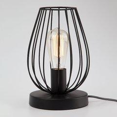 фото Настольная лампа в стиле лофт 01013/1 черный