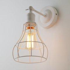 фото Настенный светильник в стиле лофт 50063/1 белый