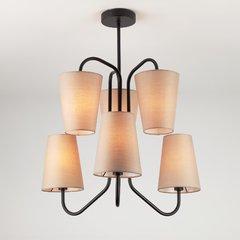 фото Подвесной светильник в стиле лофт 70060/6 черный