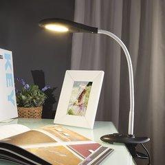 фото Светодиодная настольная лампа 90198/1 черный