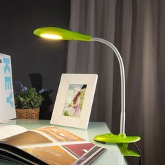 фото Светодиодная настольная лампа 90198/1 зеленый
