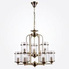 фото Подвесная люстра в стиле лофт 60040/9 античная бронза