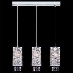 фото Подвесной светильник с хрусталем 1181/3 хром