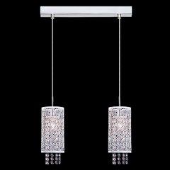 фото Подвесной светильник с хрусталем 1181/2 хром