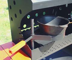 фото Опция для установки казана ПР-2 регулируемая по высоте